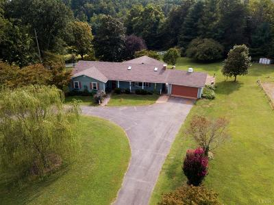 Lynchburg Single Family Home For Sale: 508 Waterlick Road
