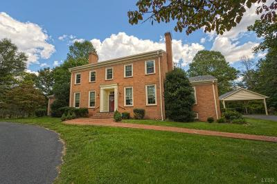 Single Family Home For Sale: 566 Police Tower Road