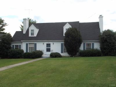 Altavista Single Family Home For Sale: 1408 Broad Street