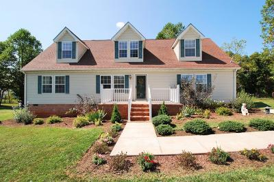 Single Family Home For Sale: 643 Police Tower Road