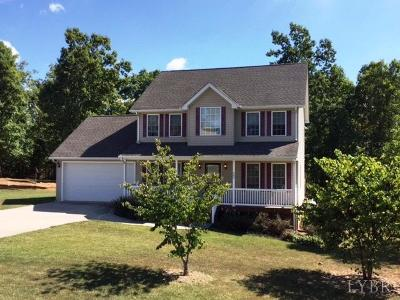 Campbell County Single Family Home For Sale: 502 Valley Drive