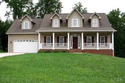 Forest Single Family Home For Sale: 1190 Daltons Drive