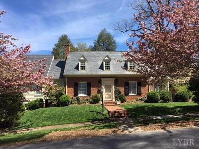 Lynchburg County Single Family Home For Sale: 1226 Greenway Court