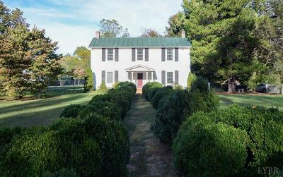 Amherst County Single Family Home For Sale: 192 Hanger Road