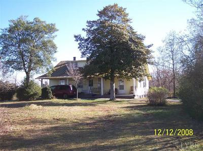 Rustburg Single Family Home For Sale: 7007 Wards Road