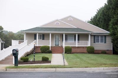 Forest, Lynchburg Single Family Home For Sale: 105 Farley Branch Drive