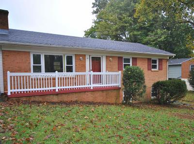 Amherst County Single Family Home For Sale: 150 Lee Drive