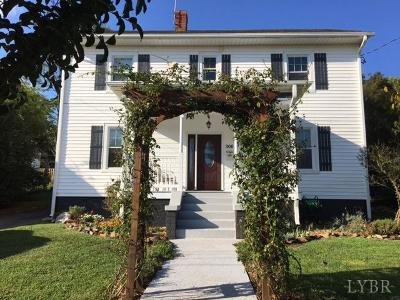 Forest, Lynchburg Single Family Home For Sale: 306 Yeardley Avenue
