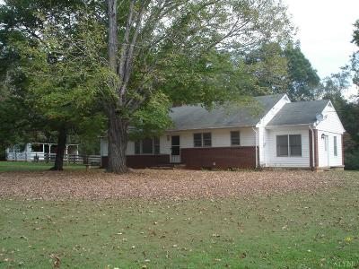 Amherst County Single Family Home For Sale: 286 Flat Woods