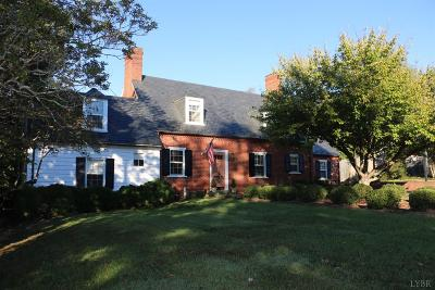 Forest, Lynchburg Single Family Home For Sale: 1623 Spottswood Place