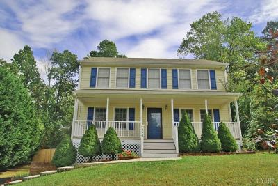 Forest, Lynchburg Single Family Home For Sale: 329 Smoketree Lane