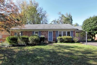Forest, Lynchburg Single Family Home For Sale: 2705 Westhaven Place