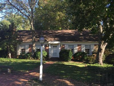 Forest, Lynchburg Single Family Home For Sale: 1455 Northwood Circle
