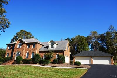 Bedford County Single Family Home For Sale: 1967 Rocky Branch Drive