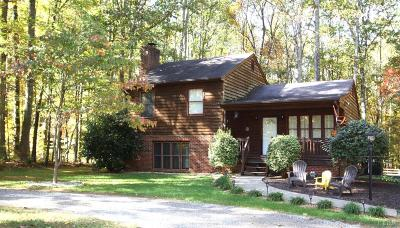 Single Family Home For Sale: 5161 Thomas Jefferson Road