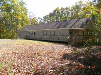Campbell County Single Family Home For Sale: 3980 Red Oak School Road