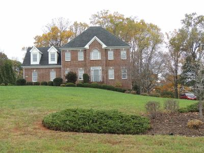 Bedford County Single Family Home For Sale: 1490 Ty Bluff
