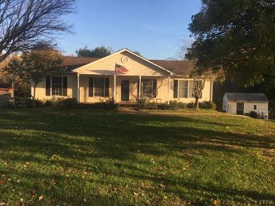 Lynchburg VA Single Family Home For Sale: $189,900