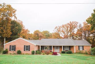 Lynchburg Single Family Home For Sale: 42 Sleepy Hollow Road