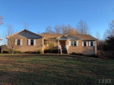 Appomattox VA Single Family Home For Sale: $275,000