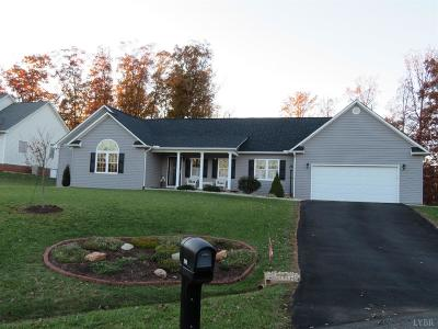 Concord VA Single Family Home For Sale: $239,900