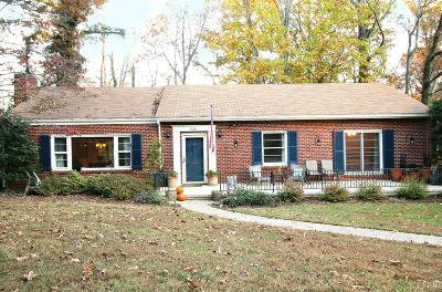 Lynchburg County Single Family Home For Sale: 1406 Wakefield Road