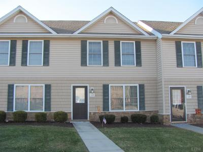 Campbell County Condo/Townhouse For Sale: 126 Old Tavern Cir