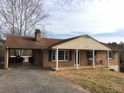 Lynchburg County Single Family Home For Sale: 122 Mayfield Drive