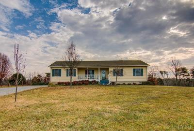 Bedford County Single Family Home For Sale: 2452 Mob Creek Road