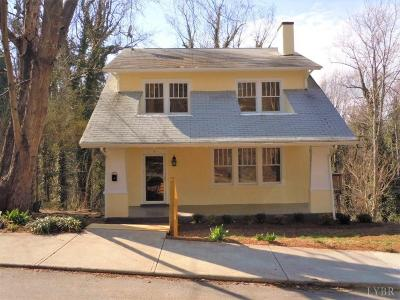 Lynchburg County Single Family Home For Sale: 7 Fredonia Avenue