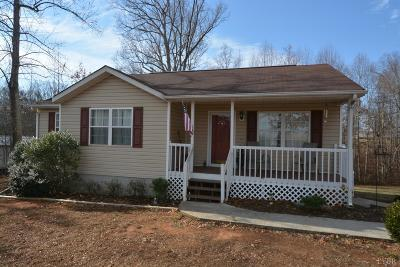 Campbell County Single Family Home For Sale: 1529 Brookneal Highway