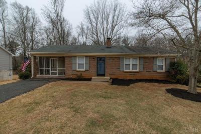 Bedford County Single Family Home For Sale: 110 Bryant Road