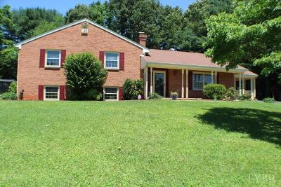 Lynchburg VA Single Family Home For Sale: $218,000