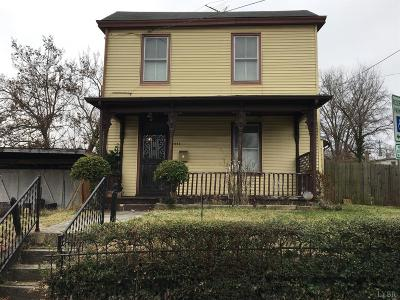 Lynchburg County Single Family Home For Sale: 1113 Monroe Street