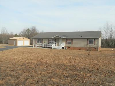 Rustburg Single Family Home Contingent/Show: 4870 Bear Creek Road