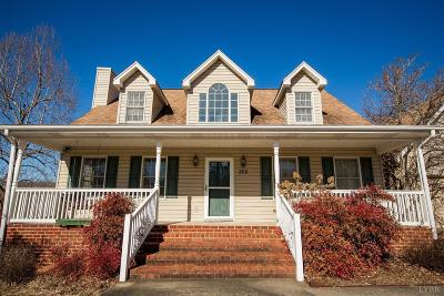 Lynchburg Single Family Home Contingent/Show: 200 Mullbury Place
