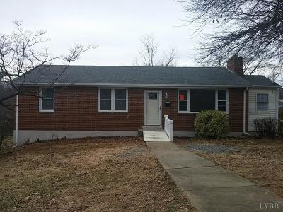 Lynchburg Single Family Home For Sale: 1301 Gates Street