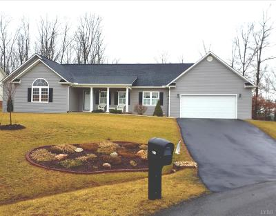 Campbell County Single Family Home Contingent/Show: 208 Walking Trail Drive