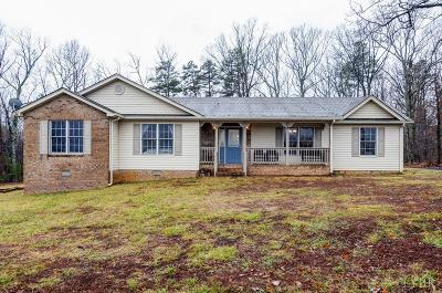 Rustburg Single Family Home For Sale: 453 Homeplace Road