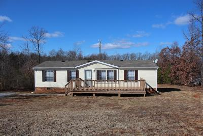 Concord VA Single Family Home For Sale: $94,900