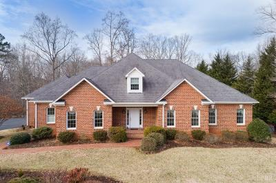 Lynchburg VA Single Family Home For Sale: $599,900