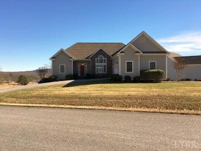 Bedford County Single Family Home For Sale: 1027 Our Cove Road