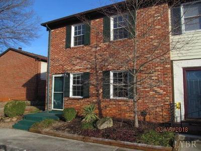 Lynchburg Condo/Townhouse For Sale: 223 Fountain Drive