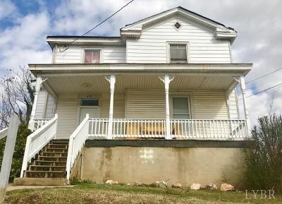 Lynchburg Single Family Home For Sale: 818 Pierce St.