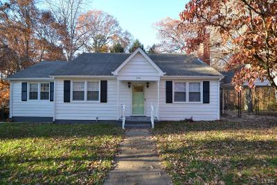 Campbell County Single Family Home For Sale: 206 Marshall Street