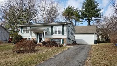 Lynchburg Single Family Home Contingent/Show: 6208 Narragansett Drive