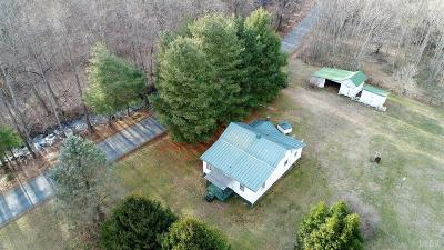 Amherst Single Family Home For Sale: 1406 Thrashers Creek Road