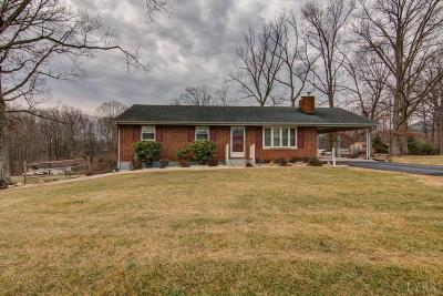 Bedford County Single Family Home For Sale: 1089 Silverbush