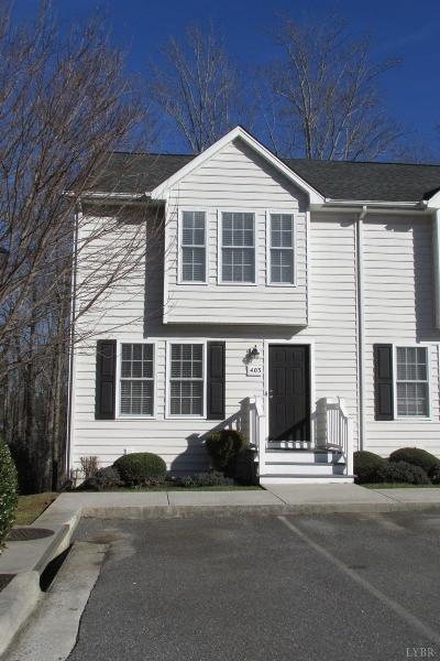 Lynchburg Condo/Townhouse For Sale: 160 Ivy Creek Lane #403