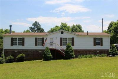 Rustburg Single Family Home For Sale: 2149 New Chapel Road